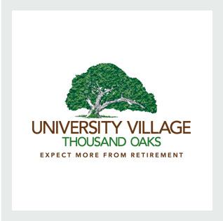 University Village Thousand Oaks Expect More From Retirement Logo
