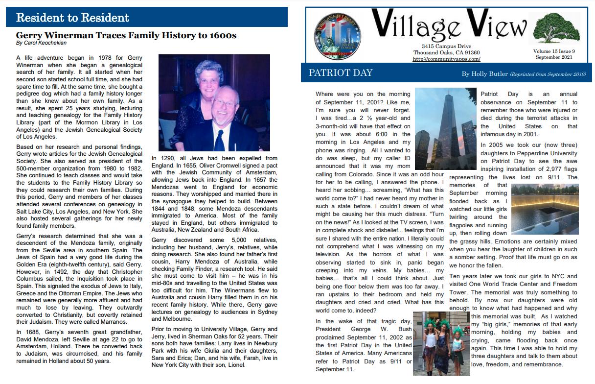 Village-View-Newsletter-for-September-2021