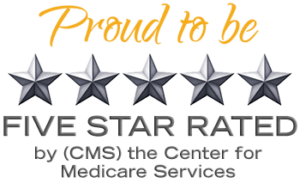 5-star rated by Medicare services