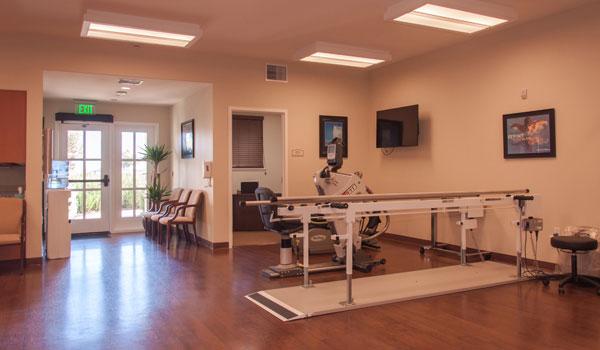 Rehabilitation room.