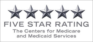 5-star rating by The Centers of Medicare and Medicaid Services